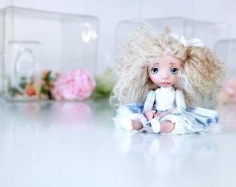 Art Doll OOAK Dolls  - mini Dolls - Puppen - OOAK - Hand made - Interior DOll