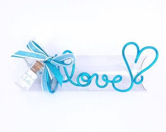 Guests gift box for wedding, baptism, confirmation, communion original dragees