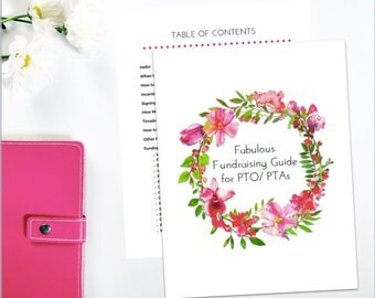 Pta reflections award certificate set awards of excellence fabulous fundraising guide for pto ptas and school groups fundraiser printable organizer and planner yadclub Images