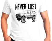 Never Lost with FZJ-80 Toyota Land Cruiser image design Item# GCENEVERLOST80ZH