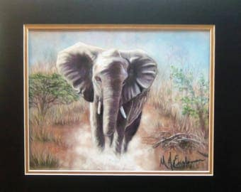 "Elephant Print - ""Magnificent"""