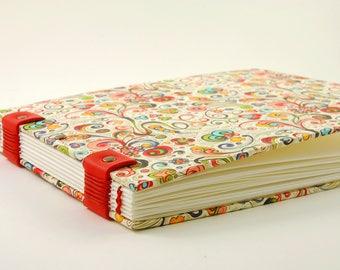 Watercolor book, sketchbook, Coptic binding, 20cmX15cm, 56 pages, carnettiste, drawing, sketch book