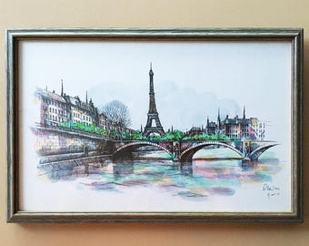 Paris Wall Art | Etsy