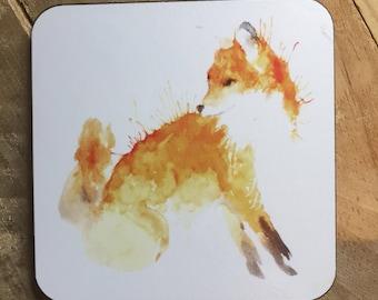 Sitting Fox Coaster