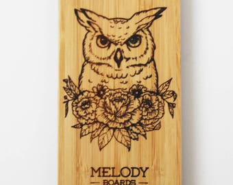 Shell Iphone 6 / 6s bamboo - OWL