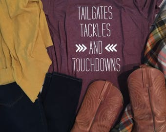 Tailgates, Tackles and Touchdowns