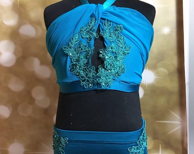 Custom dance costume, stones,Lyrical dance costume,contemporary dance costume, lyrical Dance Costume, dance leotard ,SA available