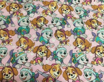 "Valance, Curtain Panel, Matching Pillow "" Paw Patrol"""