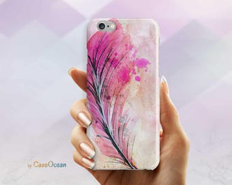 WATERCOLOR phone case, iPhone 7 6 6s Plus phone case iPhone 5 5s SE phone case Samsung Galaxy S8 Plus S7 Edge S6 S4 S3 watercolor phone case