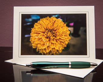 Dahlia No.1-Greeting cards-Note Cards-Flower-Nature-Happy Birthday-Family-Love-Photo Card-Floral-Wedding-Celebration-Congratulation-Gift