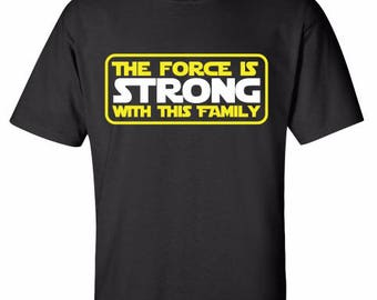 The Force is Strong With This Family - Star Wars - Hollywood Studios - Disneyland - Disney World - Mickey Mouse - Minnie Mouse