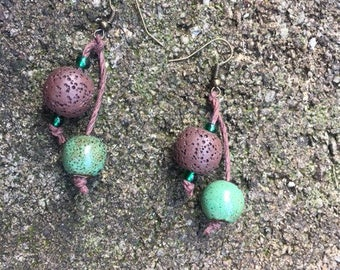 Nature Color Diffuser Earrings
