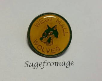 West Mall Wolves pin