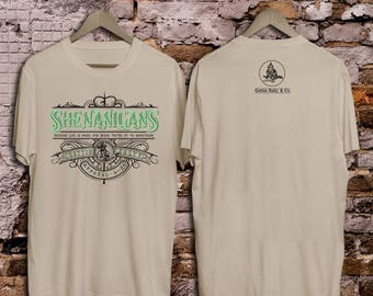 Shenanigans Firefighter T-shirt - Firefighter T-Shirt - St Patrick's Day Shirt