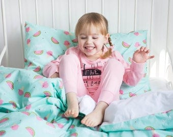 Twin Bedding, Twin Duvet Cover, Girl Twin Bedding, Kids Bedding, Girl Toddler Bedding, Girl Duvet Cover, Twin Bedding Set, Girls Bedding