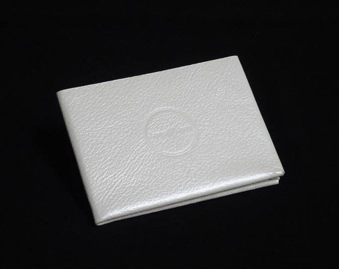 6Pocket Wallet - White - Kangaroo leather with RFID credit card blocking - Handmade - James Watson