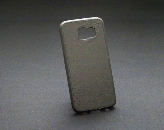 Samsung Galaxy S6 - Jimmy Case in Black - Kangaroo leather - Handmade - James Watson