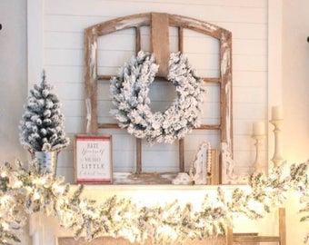 Handmade Decorative Window Frame - Medium