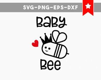 baby bee svg, newborn onesie svg, new baby svg, onesie designs bee svg, cricut cut files, svg files for cricut, cricut designs silhouette
