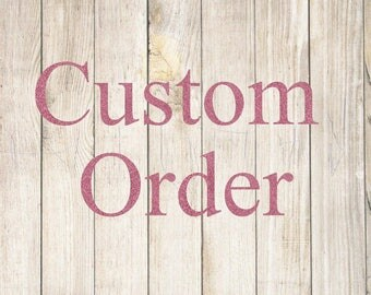 Custom Order - 9 Large Dishes