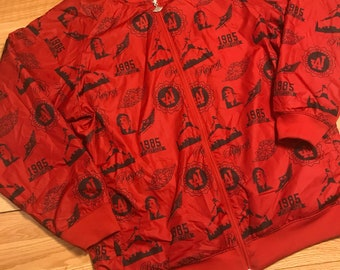 Reversible jordan bomber jacket size xl