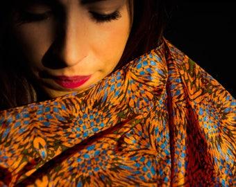 Silk scarf Sianiri