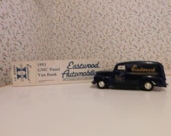 "GMC ""EASTWOOD"" Panelbody Van - BANK (1951)"