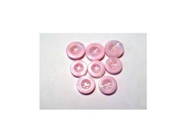 Destash, Destash Buttons, Button Lot, Pink