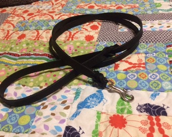 Leash & Collar Package- Normal Leash and Normal Collar Set- Custom leather leash and Buckle collar set