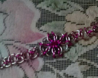 Byzantine Visions   Chainmail Jewelery Bracelet & Earrings