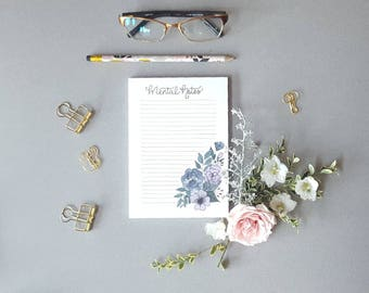 Mental Notes Self-Care Notepad / List Pad