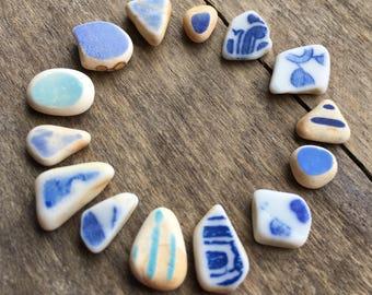 Tiny Blue Sea Pottery