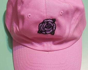 Purple Rose Hat