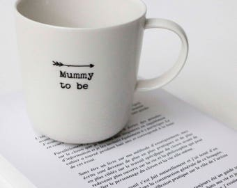 """MUMMY TO BE"" mug"