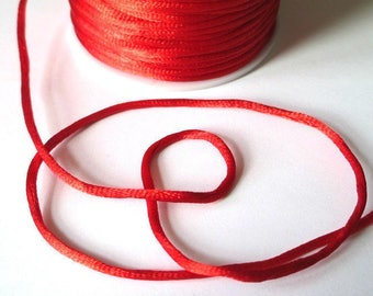 10 m red tail nylon wire 2mm rat