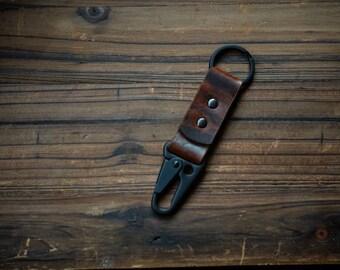 Sling Lever Key Keeper in Autumn Harvest with Matte Black Hardware