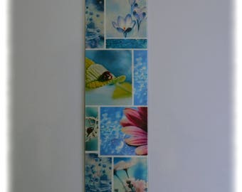 Bookmarks inspired spring flower