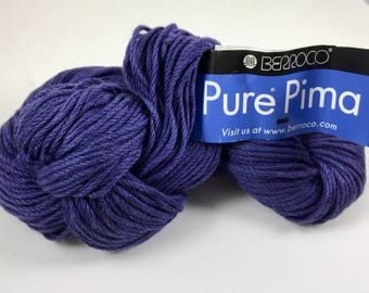 Berroco - Pure Pima - Purple - 100% Pima Cotton