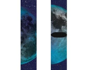 Sublimation Socks  Moon  Stars