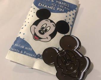 Mickey Ice Cream Sandwich Enamel Pin