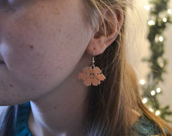 Floral Lace Earrings