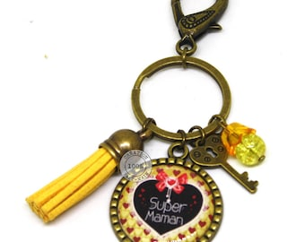 Great MOM gift/birthday/Christmas unique bag charm keychain