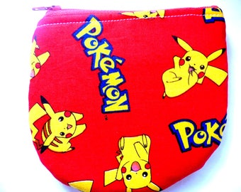 New pouch made from childrens fabric