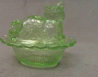 Cat Salt Green Apple Cat Salt (Dish)