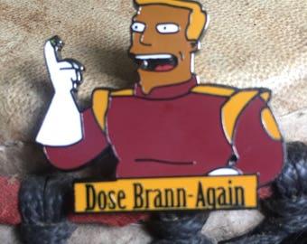 Dose Brann-Again hat pin