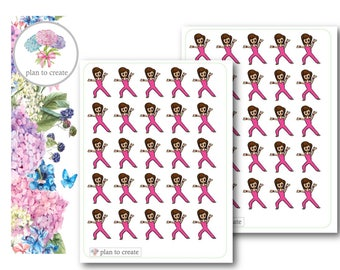 Little Annie work out stickers
