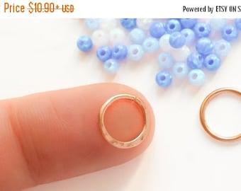 SALE - Rose Gold Septum Ring, Rose Gold Septum, Rose Gold Septum Jewelry, Nose Ring, Septum Ring, Septum