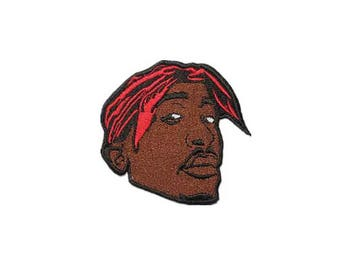 vintage style patch A man patch embroidered patch hiphop iron on patch sew on patch