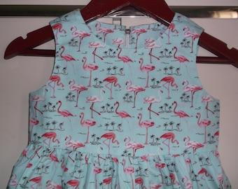 Flamingos dress