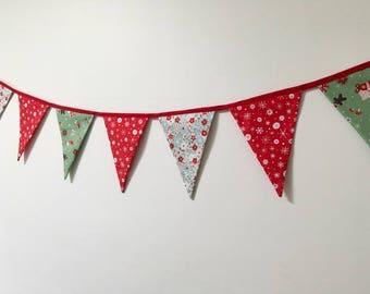 Christmas Bunting / Decoration / Wall Hanging / Banner / Garland